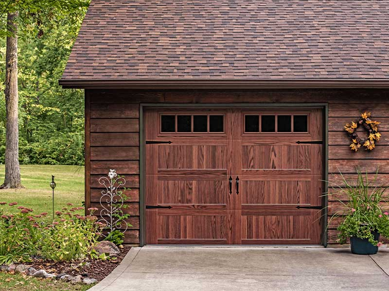 C.H.I. Overhead Doors - Stamped Carriage House